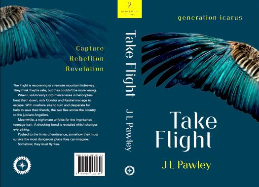 Generation Icarus - Book 2 - Take Flight (cover)